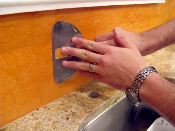 How To Create A Venetian Plaster Backsplash Copper