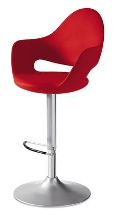 soft g as z15 pro soft swivel stool with satinated aluminum rh pinterest es