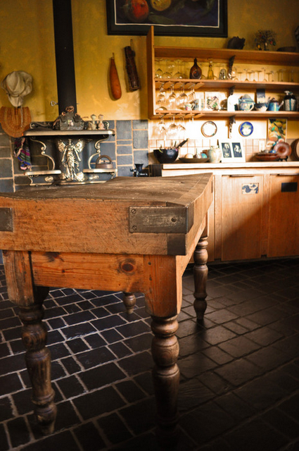 Jennifer S Maison Une Rustic Kitchen Decor Island
