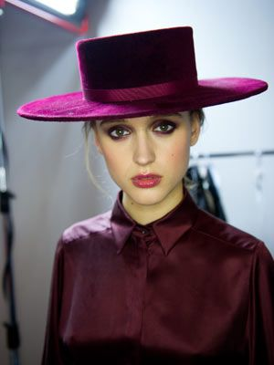 Spanish style hat - Zoe Jordan AW12
