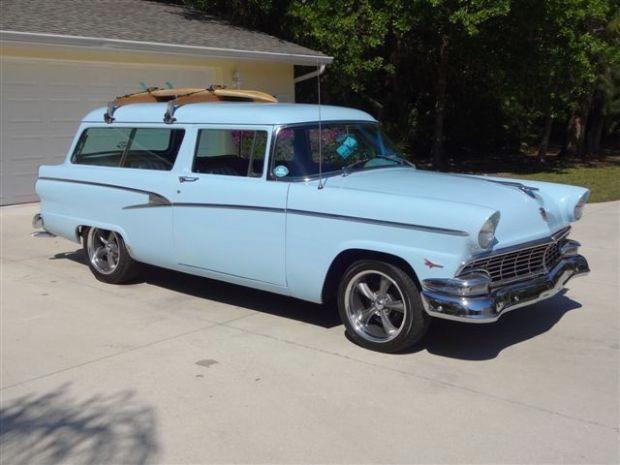 1956 ford ranch wagon 56 ford deluxe ranch waton t bird 292ci v8 3 rh pinterest com
