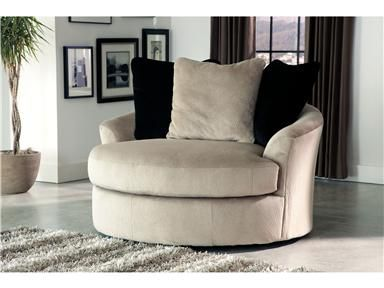 Shop For Signature Design Oversized Swivel Accent Chair, 4720121, And Other  Living Room Chairs