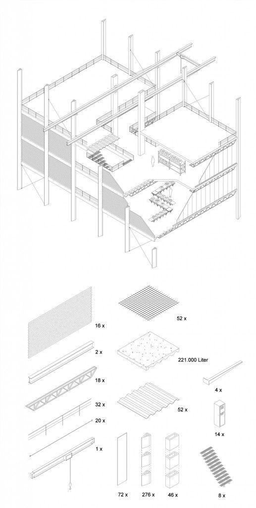 Architecture Structure Detail Diagram Hannes Van Damme