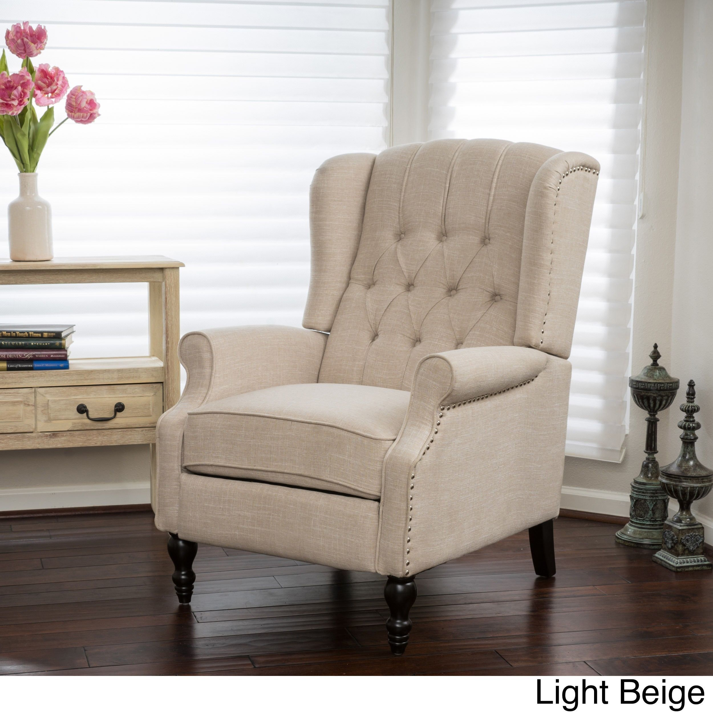 Walter Fabric Recliner Club Chair by Christopher