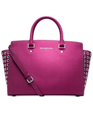 Michael Kors Handbag In A Hot Pink