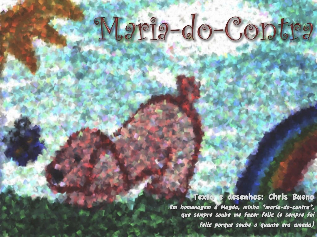 Maria-do-contra by Chris Bueno via slideshare