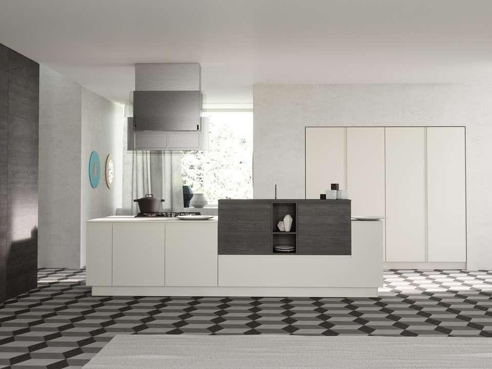 Risultati immagini per cucina bianca e grigia | Cucina | Pinterest ...