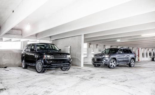 2010 Land Rover Range Rover Sport Hse And 2014 Jeep Grand Cherokee
