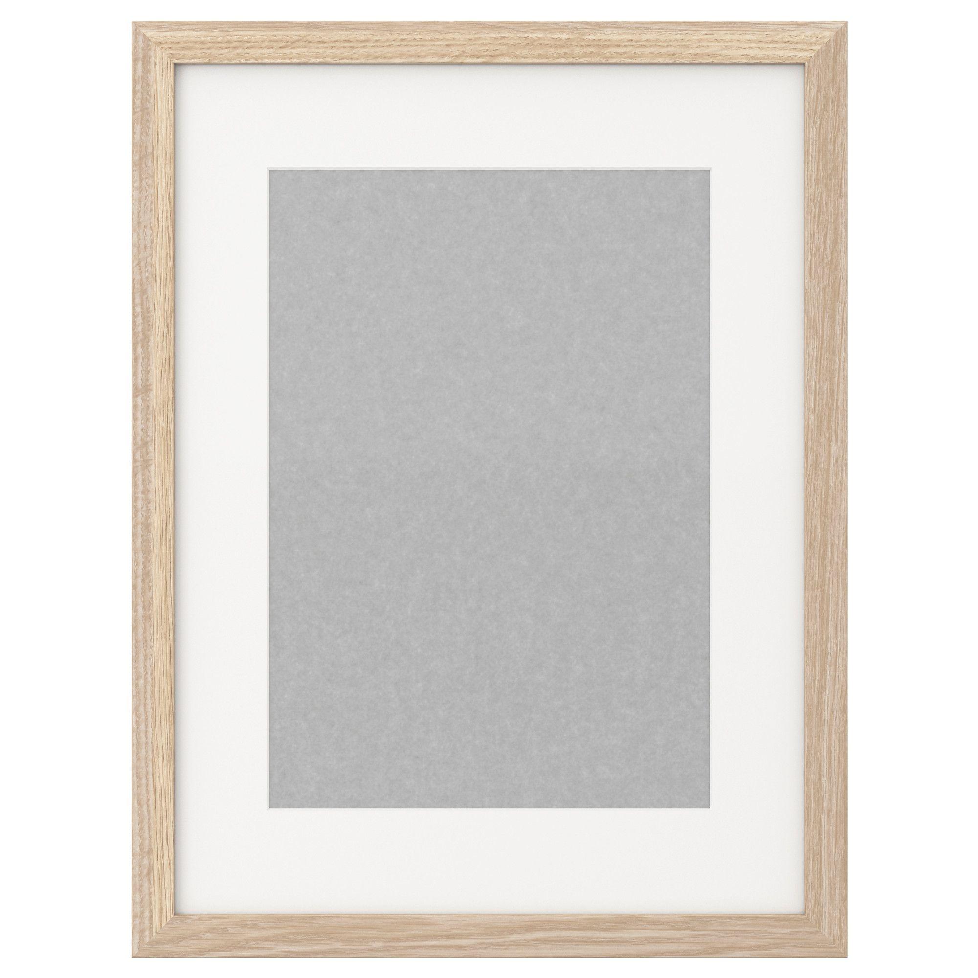 RIBBA Frame - white stained oak effect - IKEA | BeGood | Pinterest ...