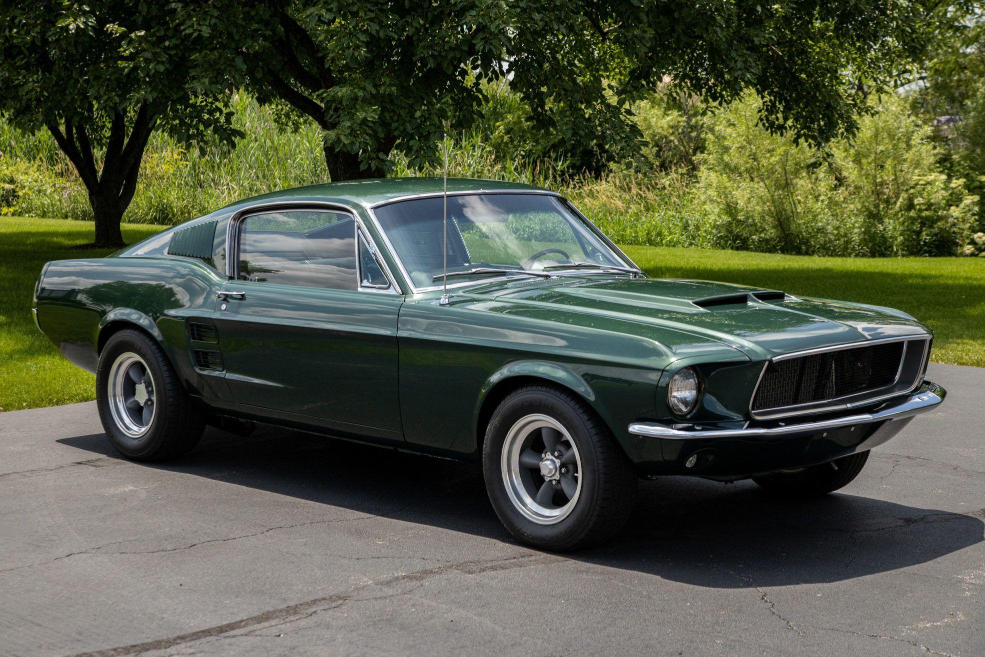 1967 Ford Mustang Fastback Bullitt Tribute In 2020 Mustang