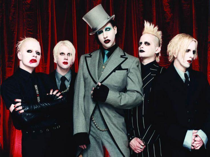 Marilyn Manson Industrial Metal Rock Heavy Shock Gothic Glam En Wallpaper 1600x1200 180601 Marilyn Manson Manson Marilyn