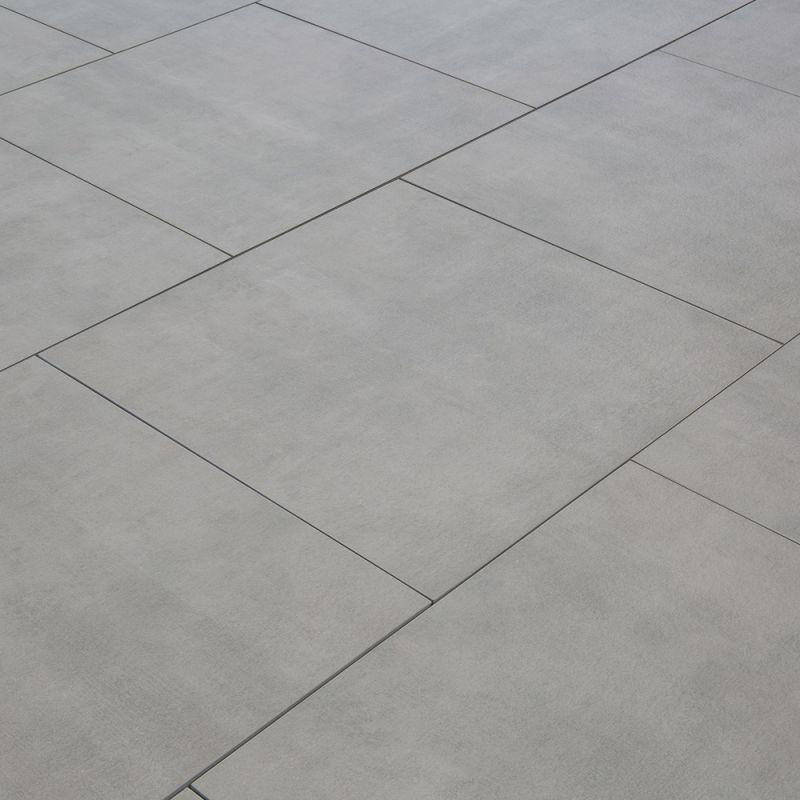 Carrelage Sol Exterieur Pour Terrasse Gris Brut 1 Dalle 60x60 0