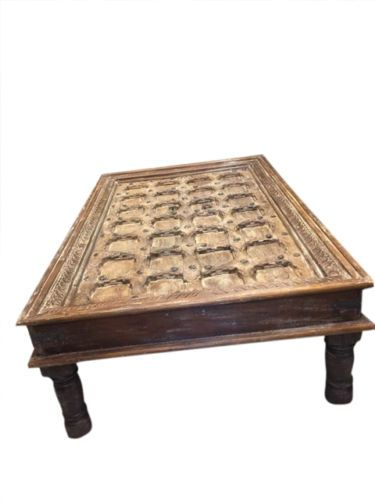 antique hand carved coffee table by baydeals antique vintage rh pinterest com