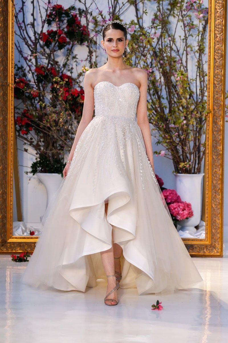 Hi Low Wedding Dress - Anne Barge Jubilee
