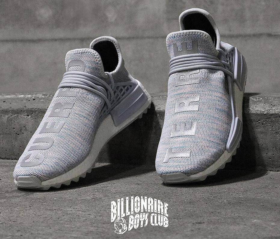172893a46038fa A Better Look at Pharrell s Latest Billionaire Boys Club x adidas Hu NMD  Trail in 2019