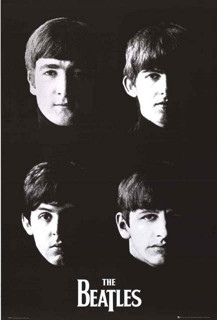 THE BEATLES POSTER Amazing Portraits RARE HOT NEW 22x34