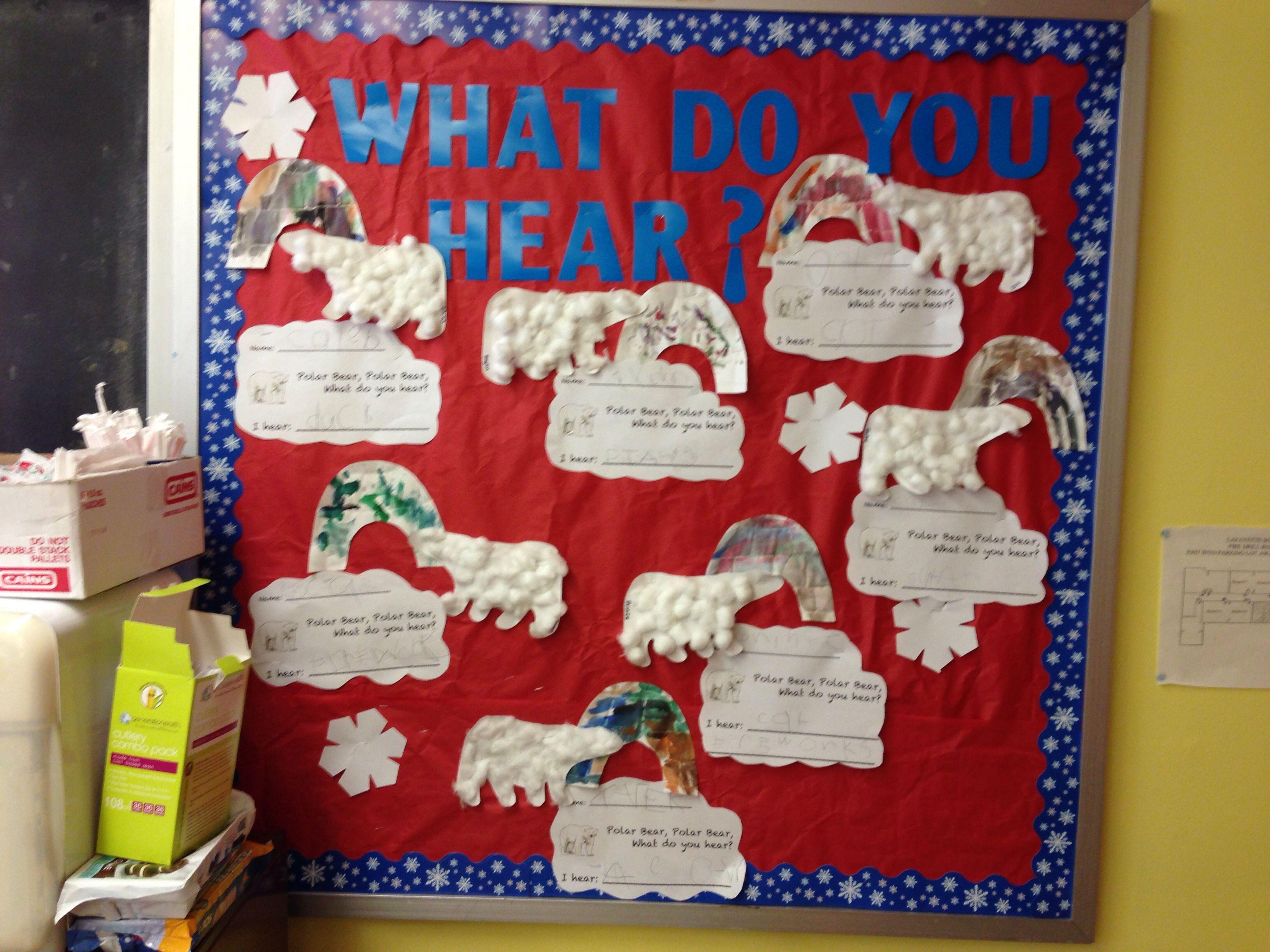 Bulletin Board To Go With Book Polar Bear Polar Bear