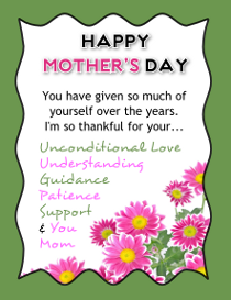 Happy MotherS Day Flyer Template Free Download  FlyertutorCom