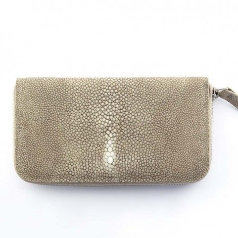 Bethge | Wallet and clutch bag made of galuchat.