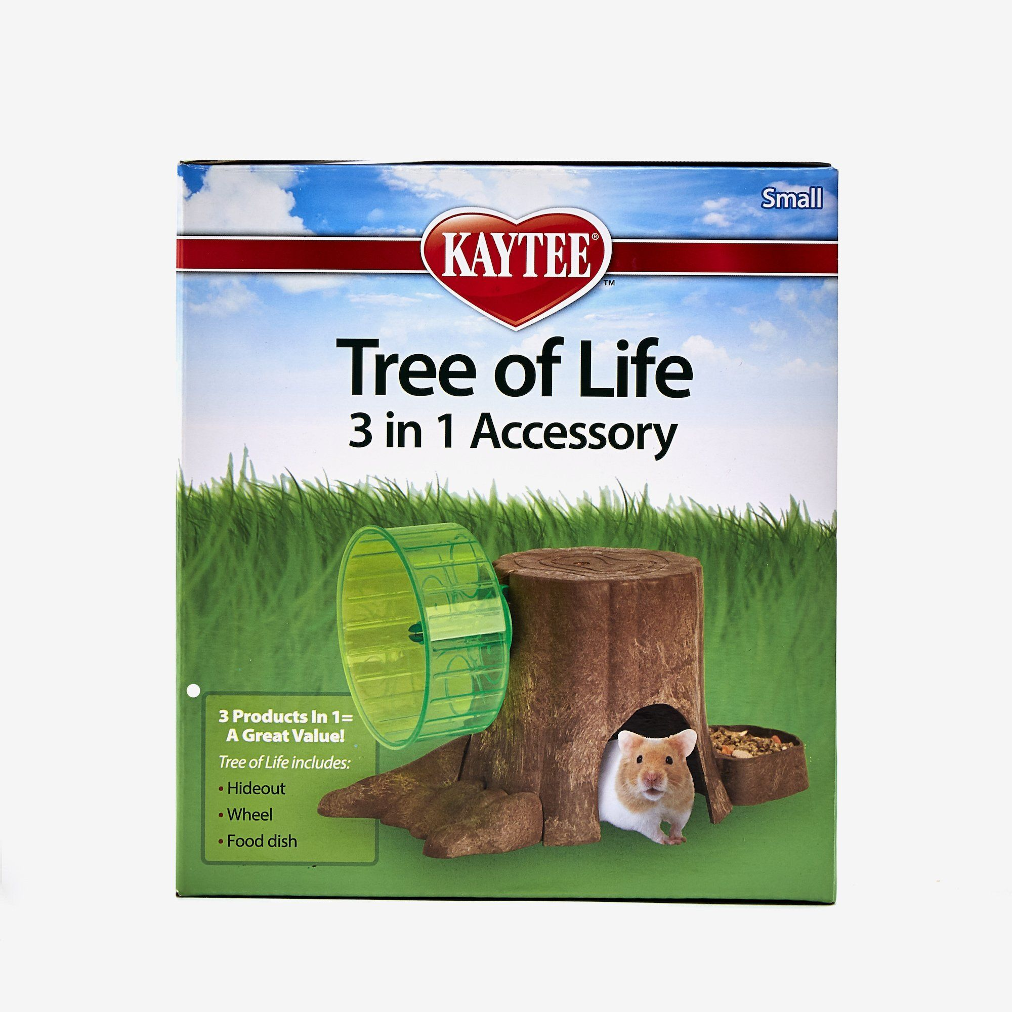 Small Kaytee Tree of Life 3-in-1 Pet Habitat Accessory