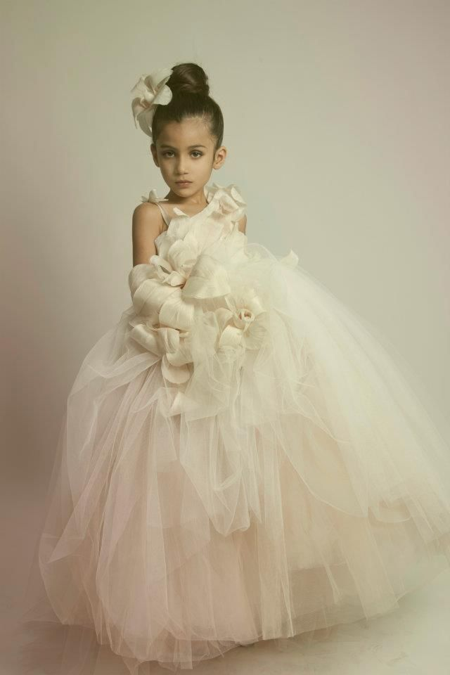 Couture Flower Girl Dresses
