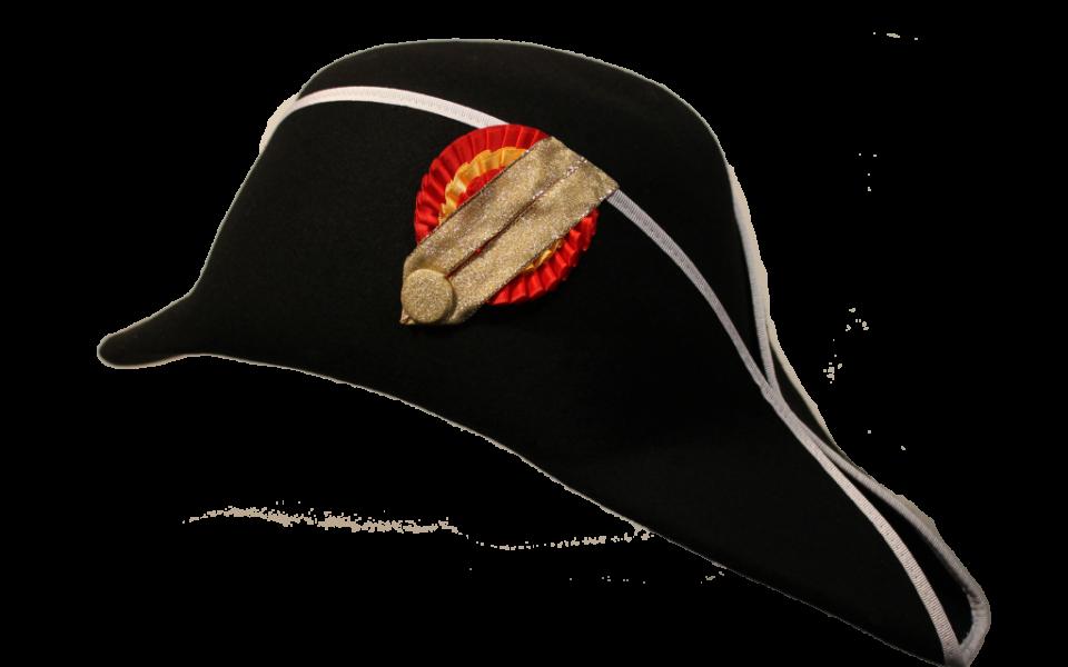 Ref 76410 Sombrero Bicornio Siglo Xix Oliver Hats