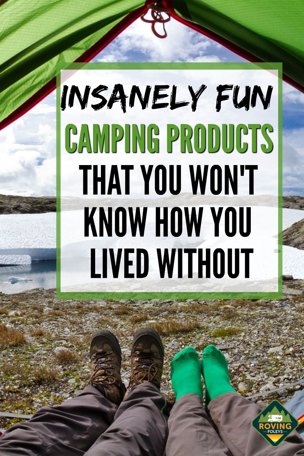 Fun Camping Products You Won't Know How You Lived Without Them!