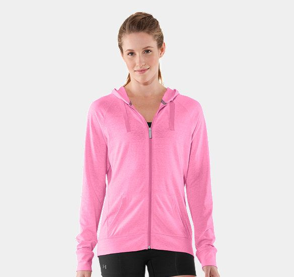This one's nice too ~ Women's Charged Cotton® Undeniable Full Zip Hoody | 1236035 | Under Armour US