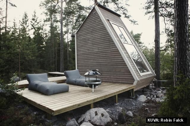 finnish mini sized summer cottage designed by robin falck just rh pinterest com