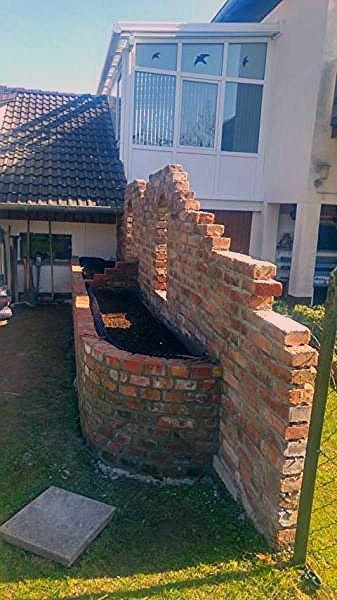 Photo of Sichtschutz mit Hochbeet aus alten Backsteinen – Bauanleitung zum Selberbauen – … – My Blog