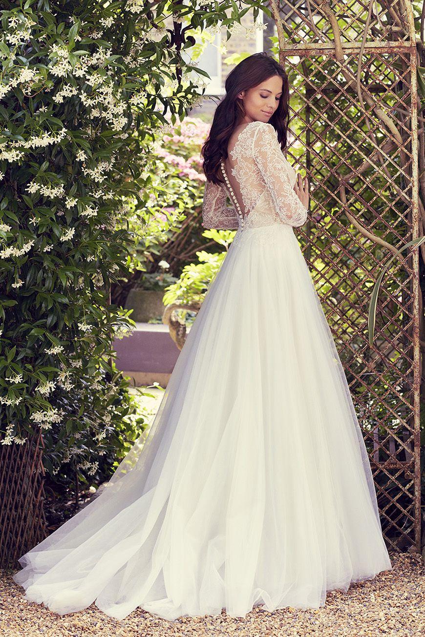 The Perfect Spring Wedding Dresses for 2017   CHWV   Wedding Idea ...