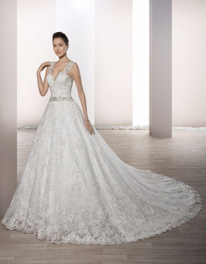 3. vestido de novia princesa demetrios 2017 | ❤❤❤vestidos