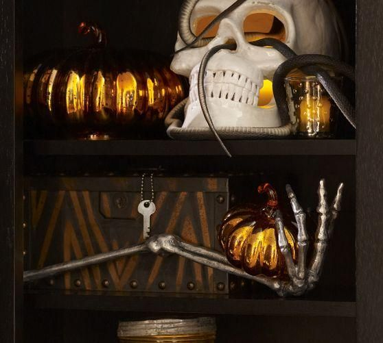 indoor halloween decorations  IDEAS  INSPIRATIONS Skeleton Hand - indoor halloween decoration ideas