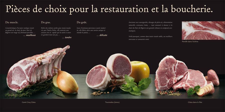 porc noir de bigorre - Google Search gourmet Pinterest Gourmet