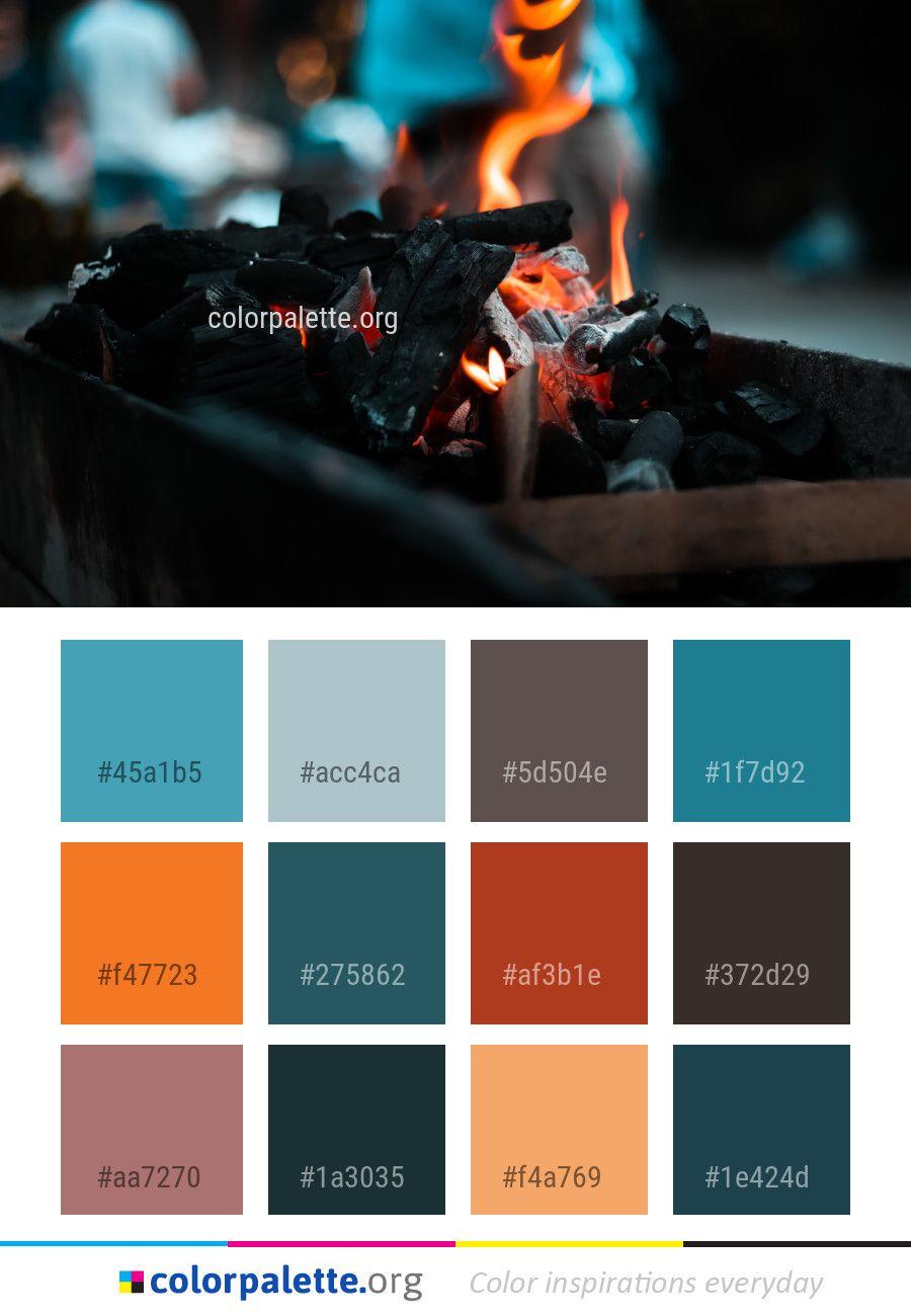 fire darkness color palette color palettes palette color rh pinterest com