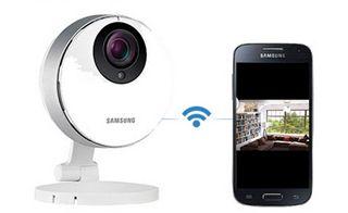 Cam 233 Ra De Vid 233 Osurveillance De Samsung Maison Pinterest