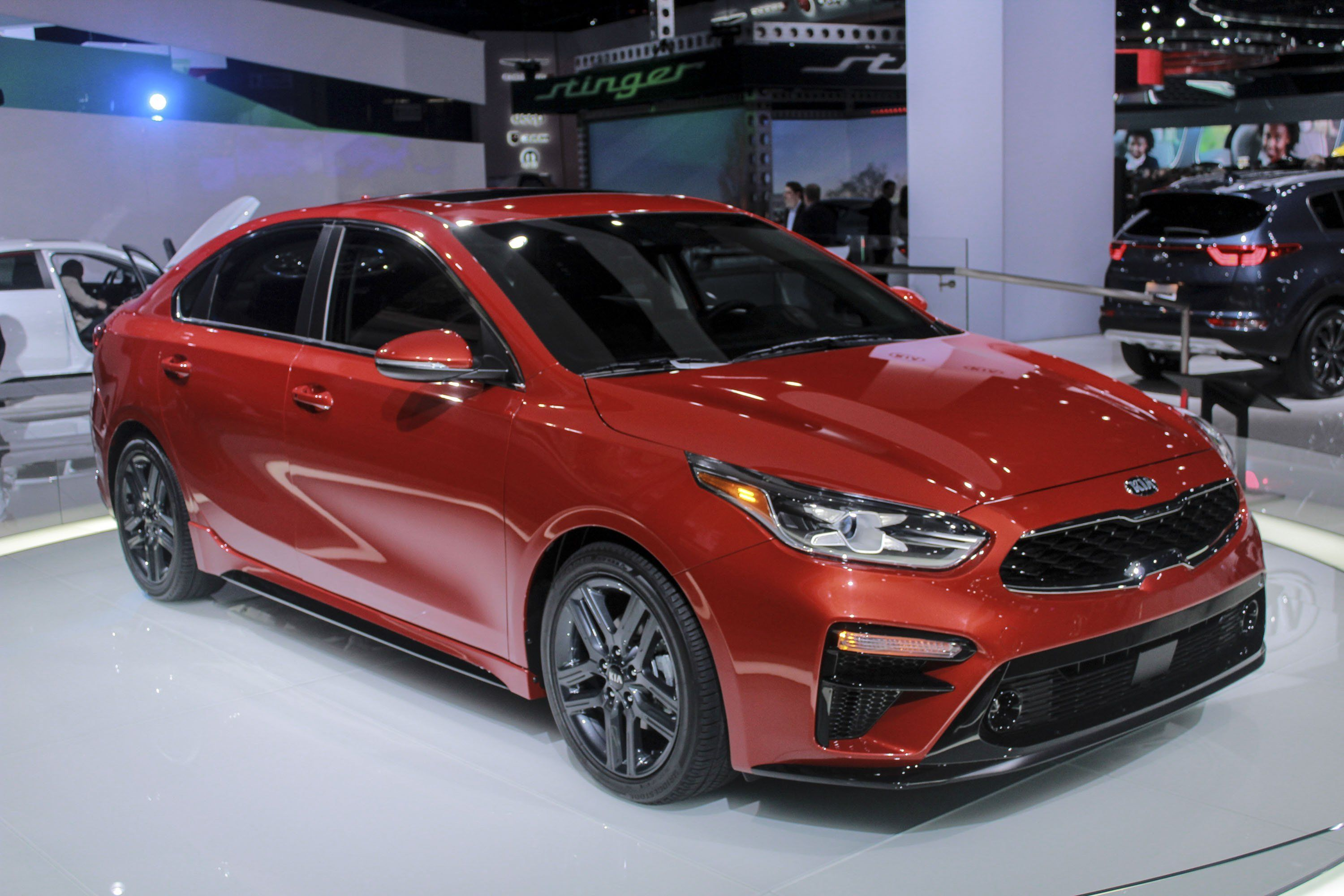 New 2019 Kia Forte Ex Photos