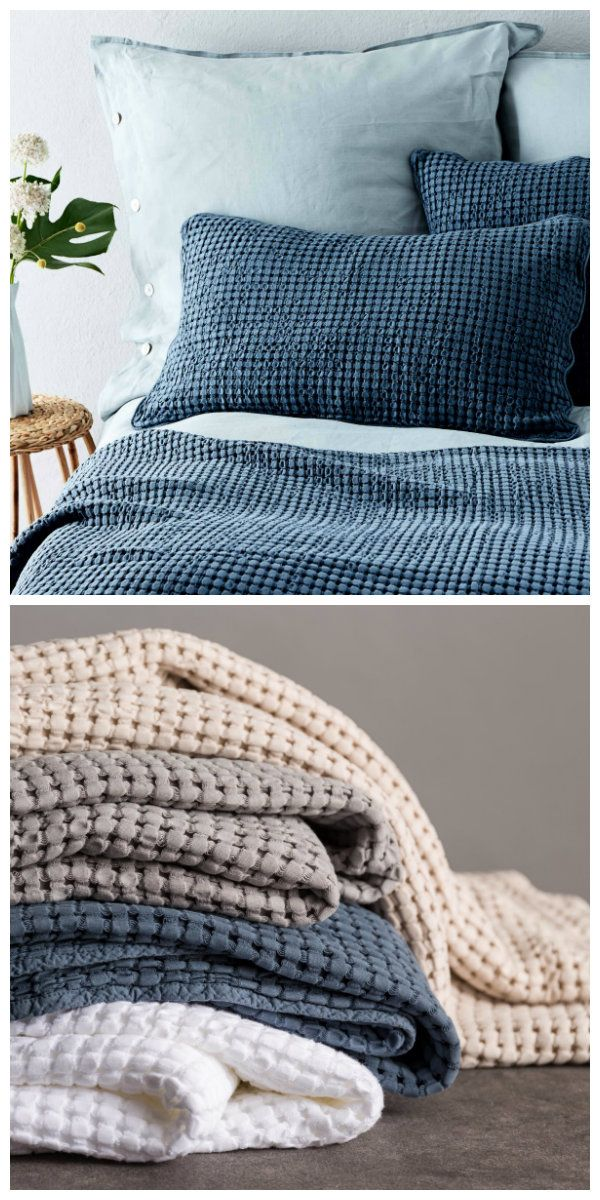 die kollektion veiros im sch nen waffeldesign peppt jedes bett auf und sorgt f r eine extra. Black Bedroom Furniture Sets. Home Design Ideas
