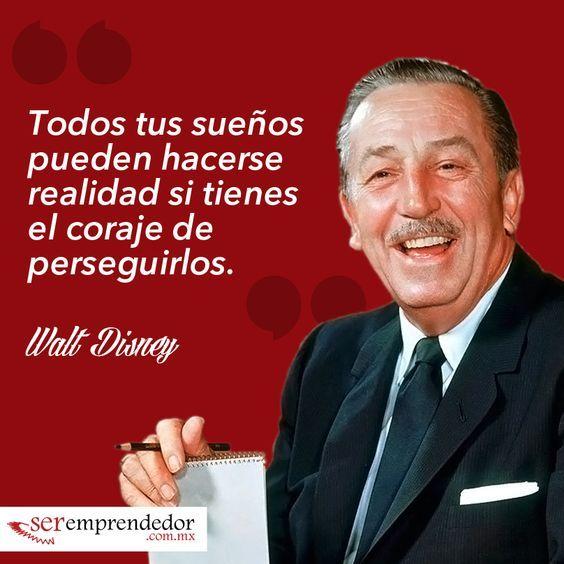 Frases Motivacionales De Walt Disney Frases Motivacionales