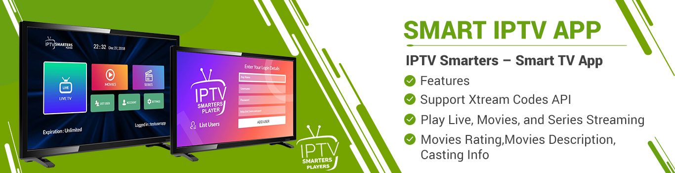 We are offering software solutions for IPTV Such as App