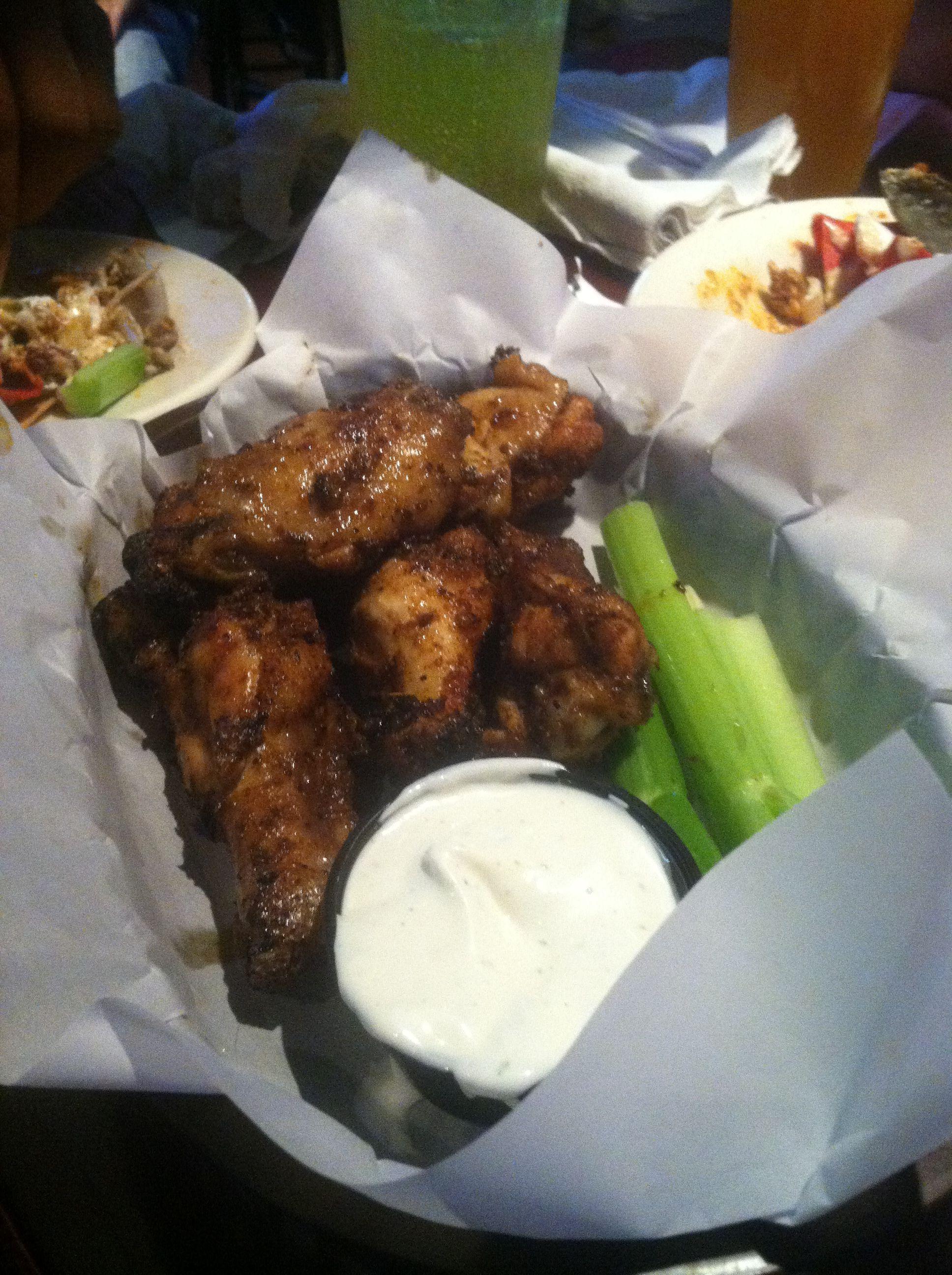 Dry Rub Wings From My Favorite Sports Bar Kickback Jack S In Greensboro Nc Dry Rub Recipes Cooking Recipes Rub Recipes