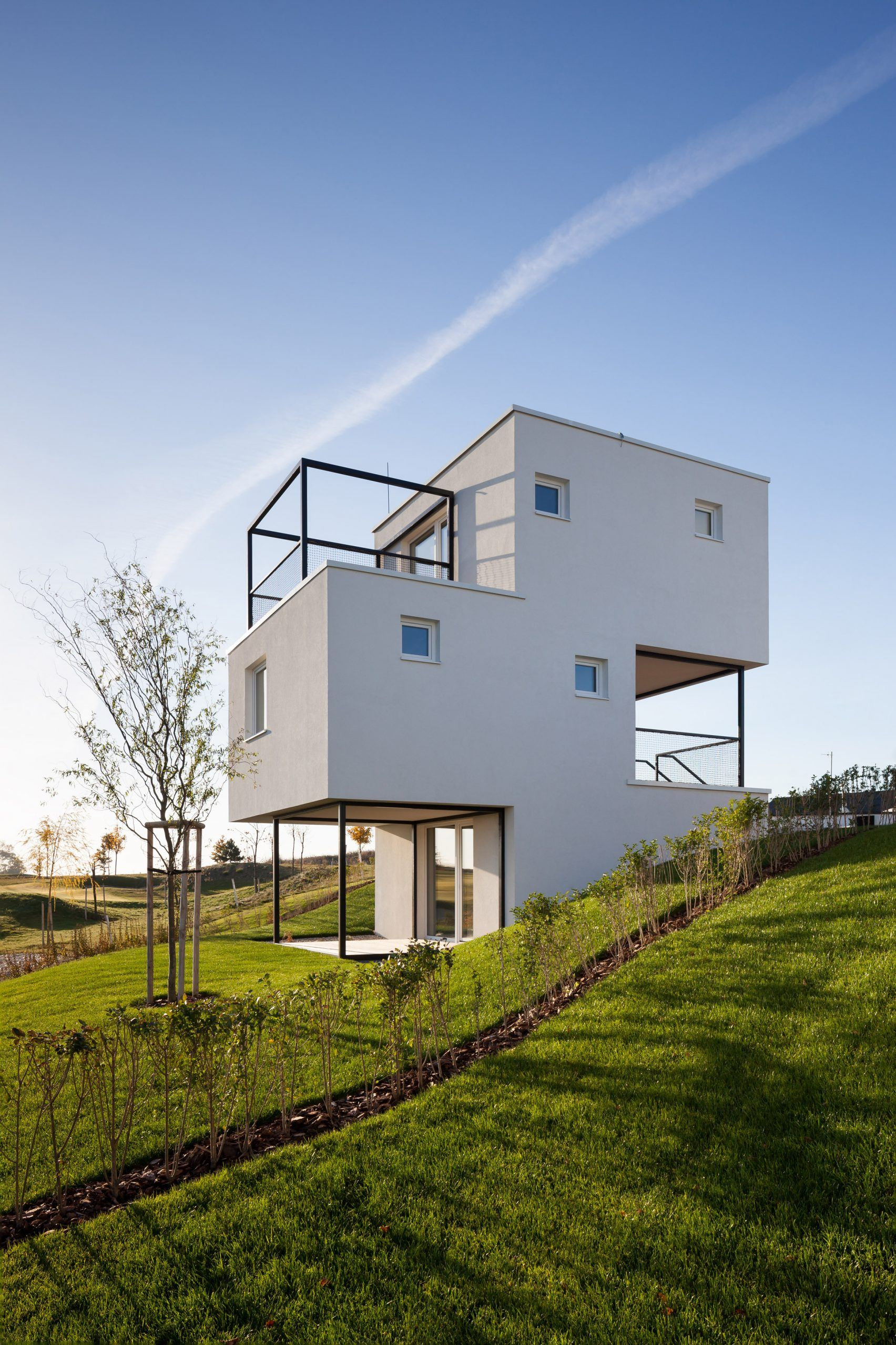 3x3 houses by endorfine architecture modern small house design rh pinterest com