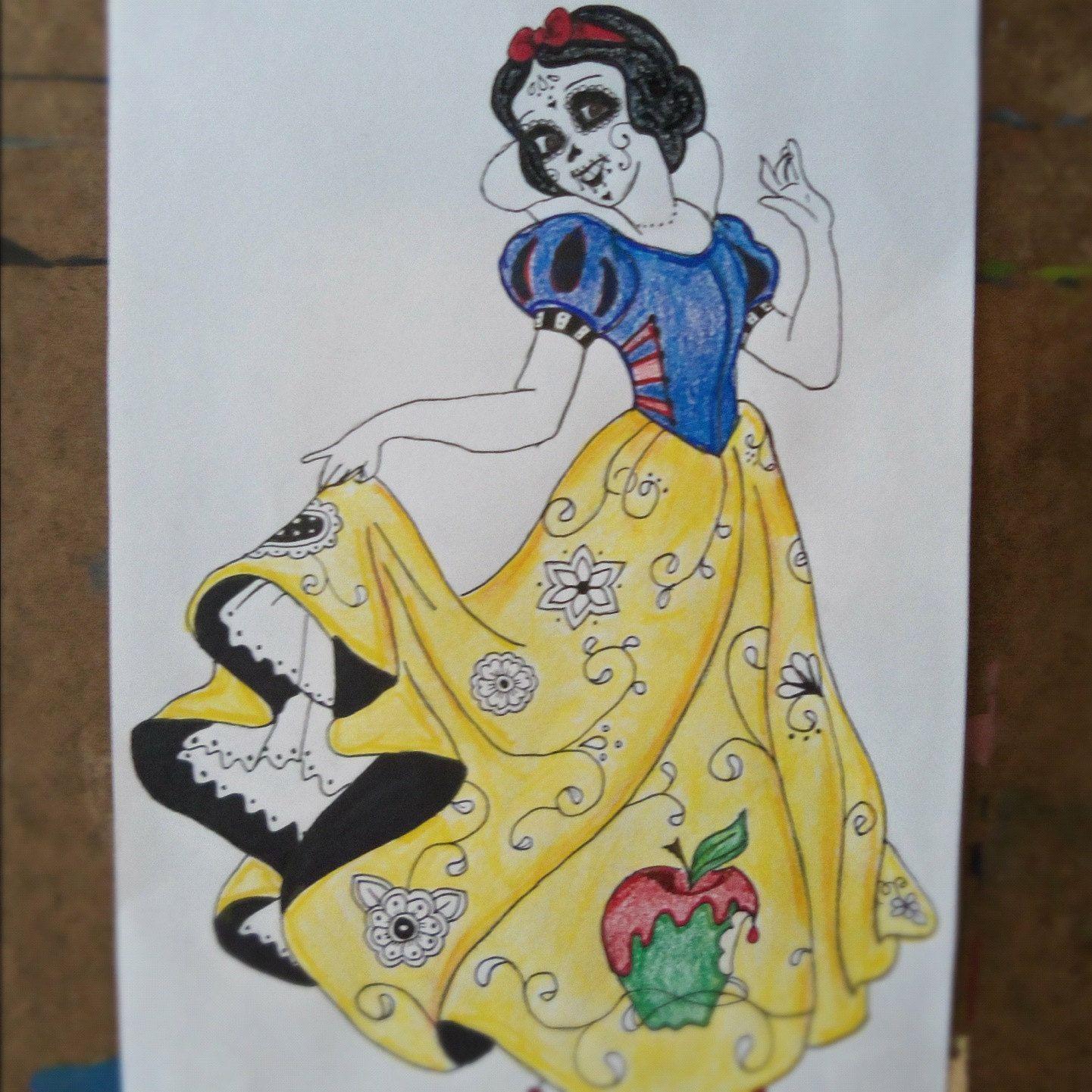 Viewing - Sugar Skulls Drawings Black And