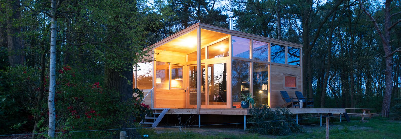 the pre fab tiny skyview cabin is crafted from all natural and low rh pinterest com