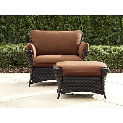 la z boy outdoor everett oversized chair with ottoman poolside in rh pinterest com