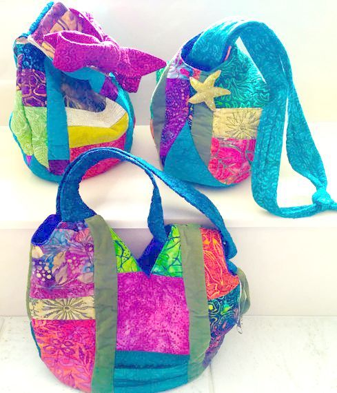 Quilted Adjustable Japanese Knot Purse - PDF Pattern + Tutorial