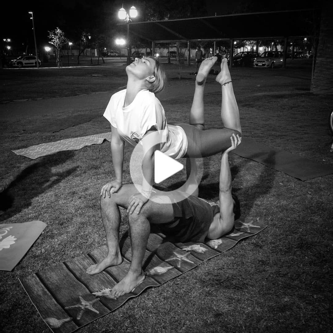 YOGWALIN #pilatescourses yoga challenge partner easy, yoga couple challenge,partner acro yoga,yoga