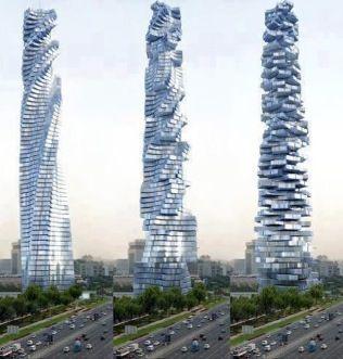 Davinci Rotating Tower in Dubai