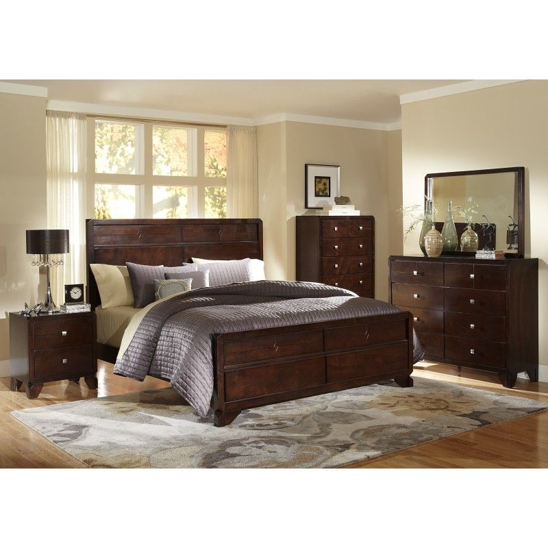 tamryn dark brown bedroom set bedrooms pinterest dark brown rh pinterest com