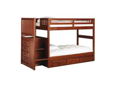 Badcock Madison Collection Twin Over Twin Bunk Bed Bunk Beds